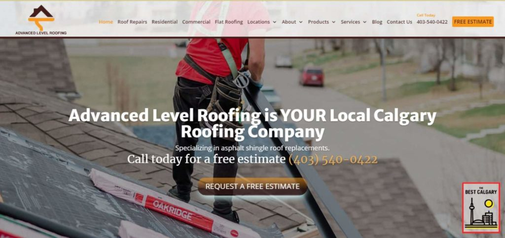 Advanced Level Roofing's Homepage