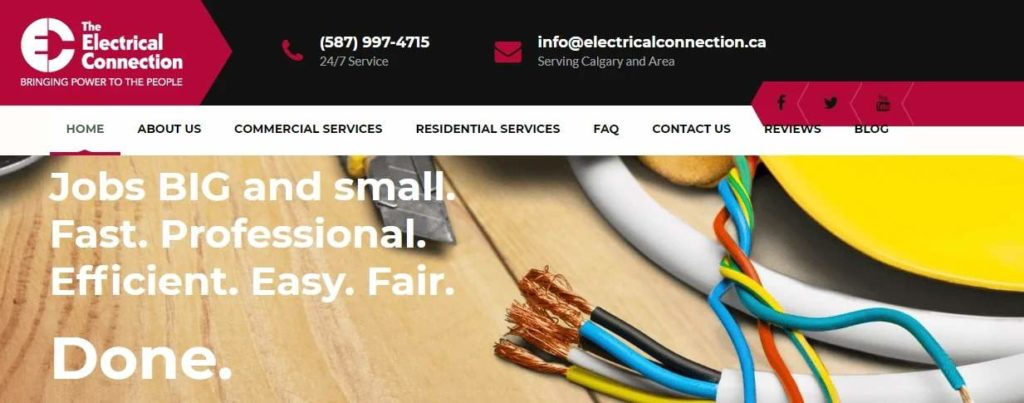 The Electrical Connection's Homepage