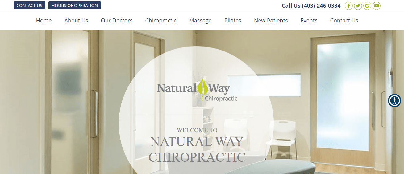 Natural Way Chiropractic's Homepage