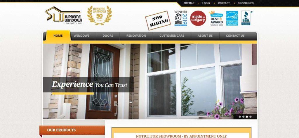 Supreme Windows' Homepage