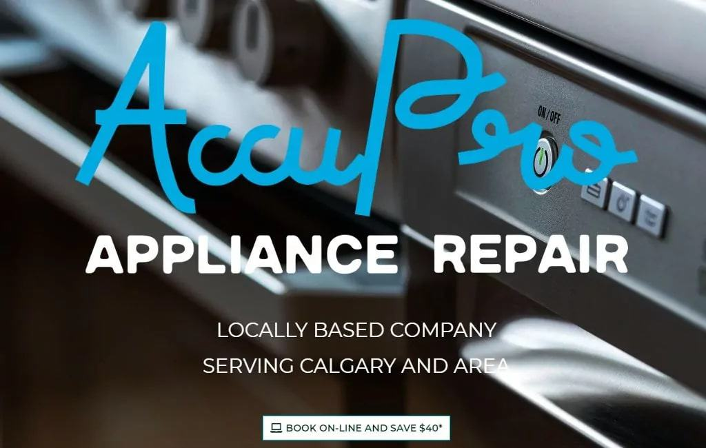 AccuPro Appliance Repair's Homepage