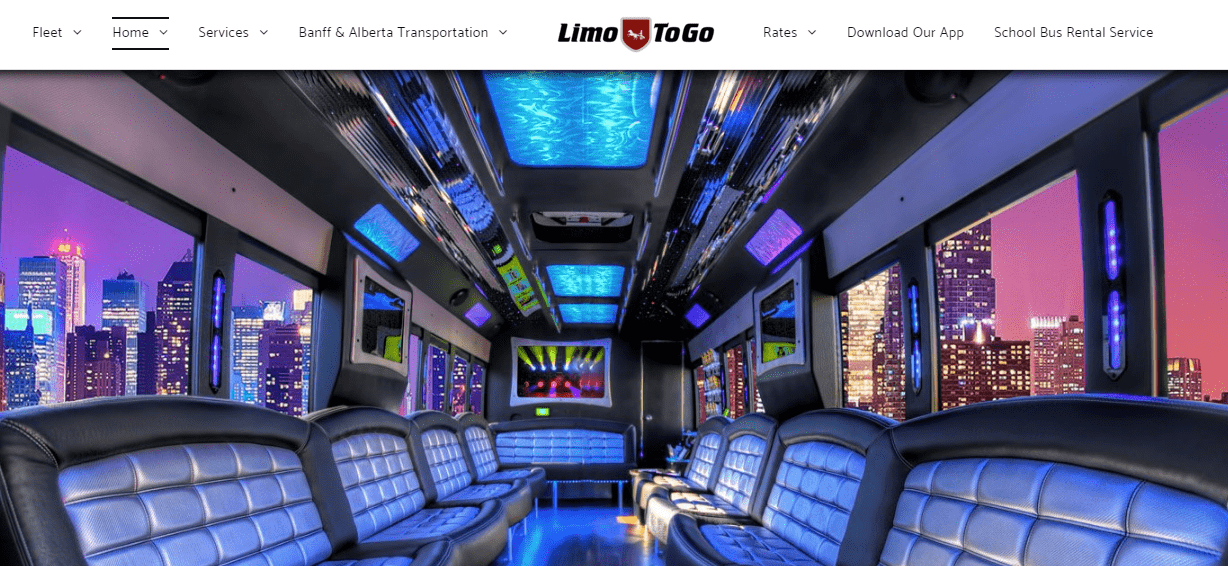 Limo To Go's Homepage