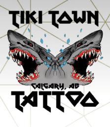 Tiki Town Tattoo's Logo