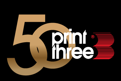 Print Three Calgary's Logo