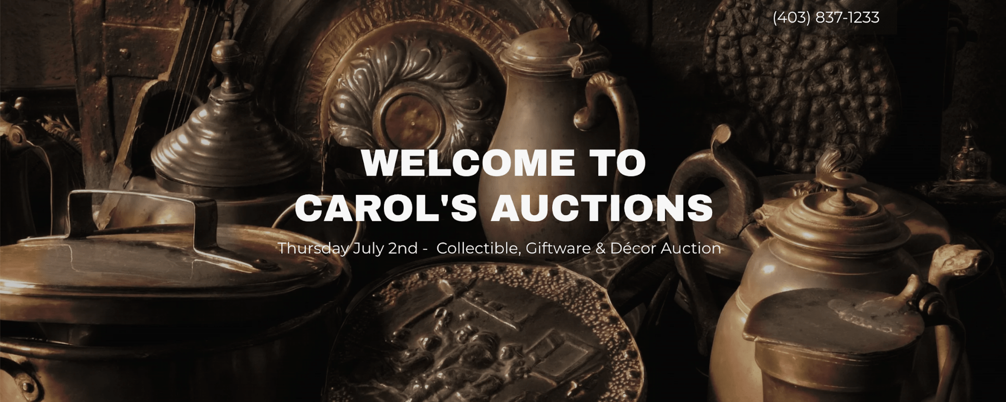 Carol's Auctions' Homepage