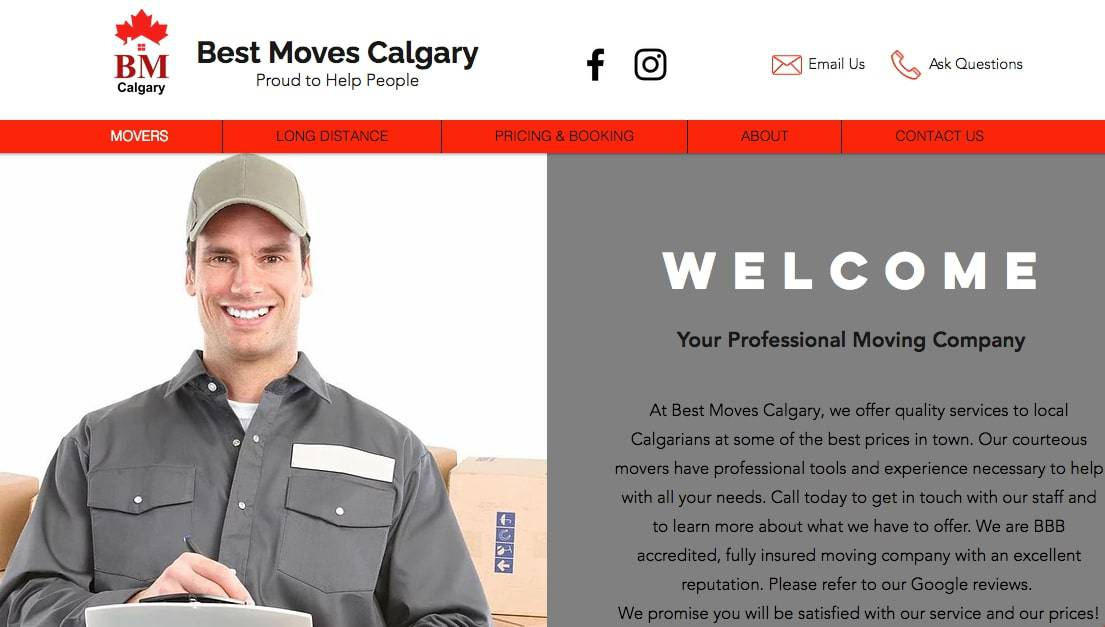 Best Moves Calgary's Homepage