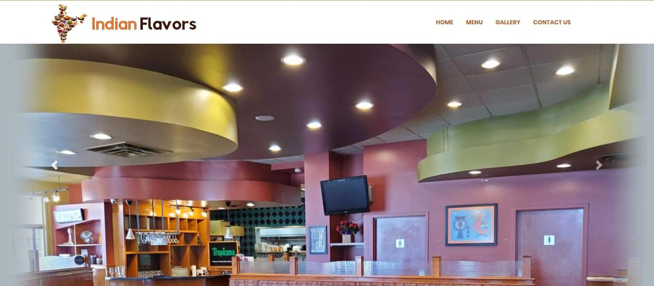 Indian Flavors' Homepage