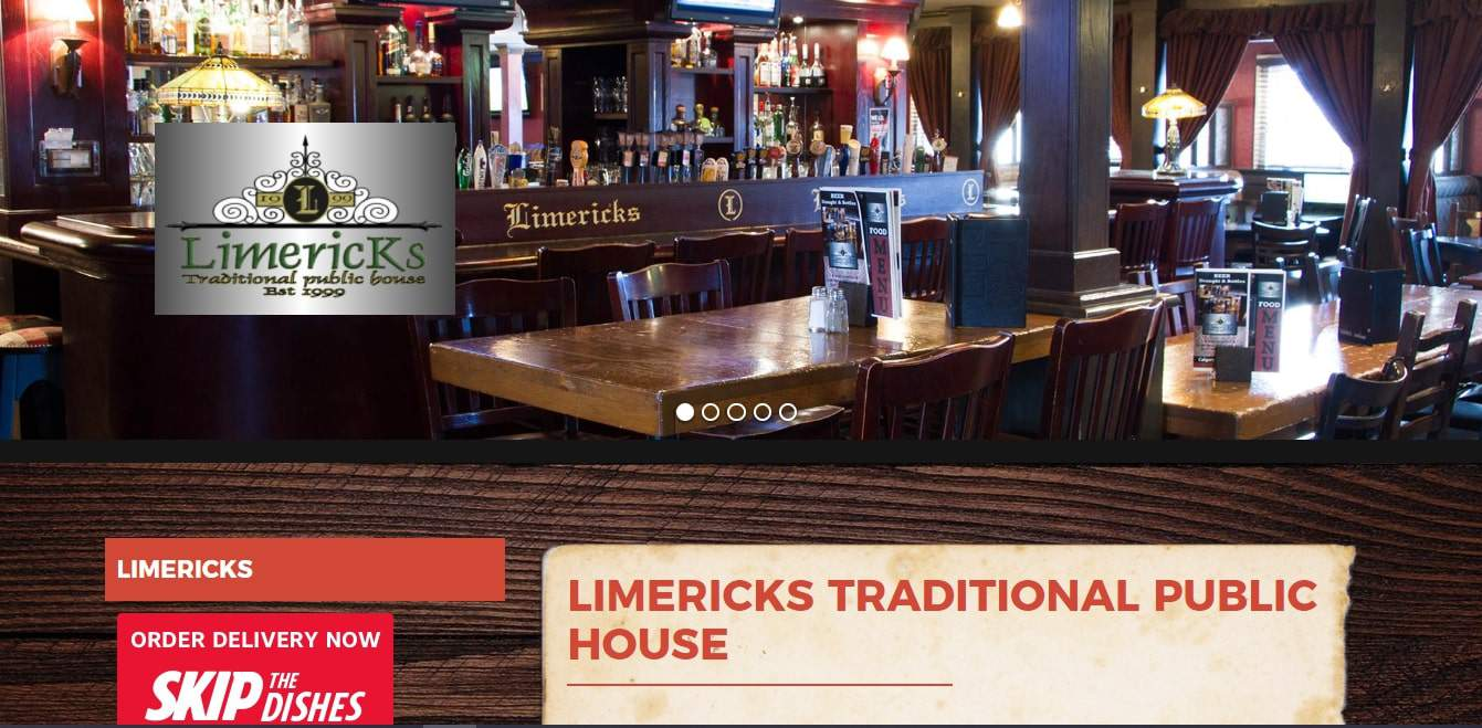 Limericks Traditional Public House's Homepage