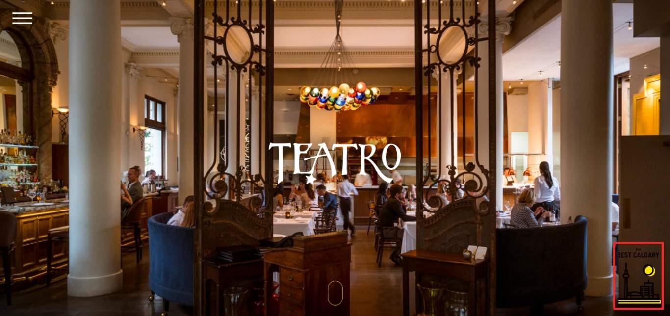 Teatro Ristorante's Homepage