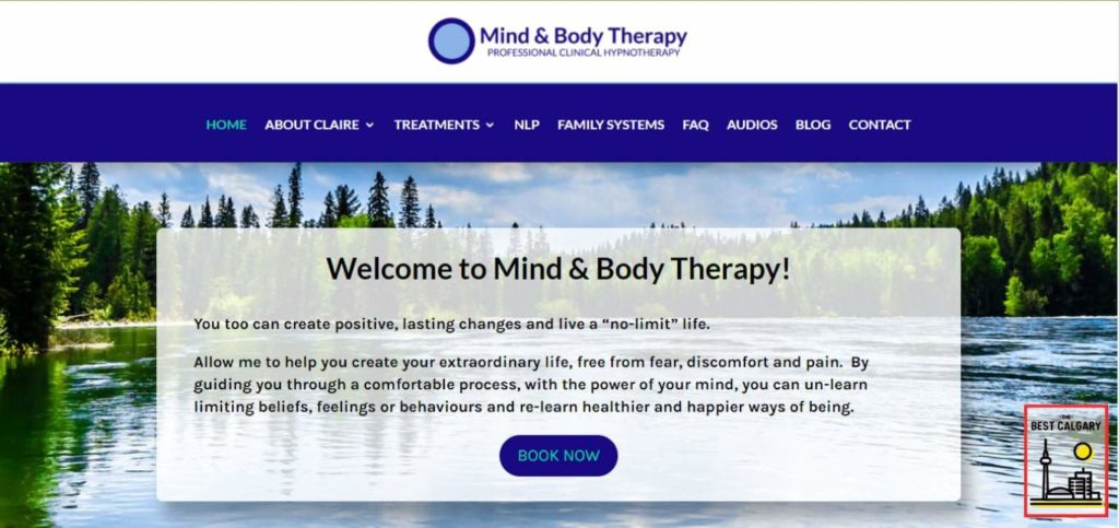 Mind and Body Therapy's Homepage