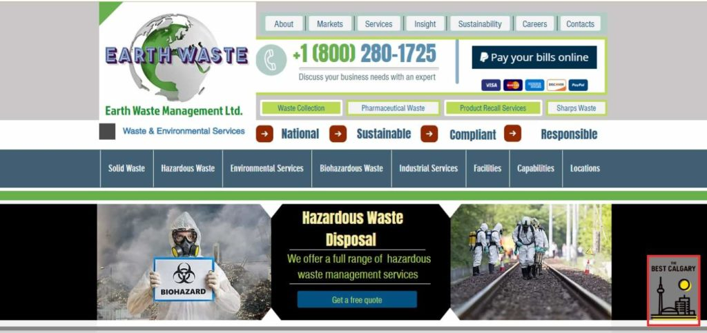 Earth Waste Management's Homepage