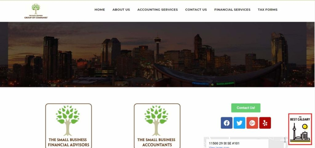 The Small Business Accountants Ltd's Homepage