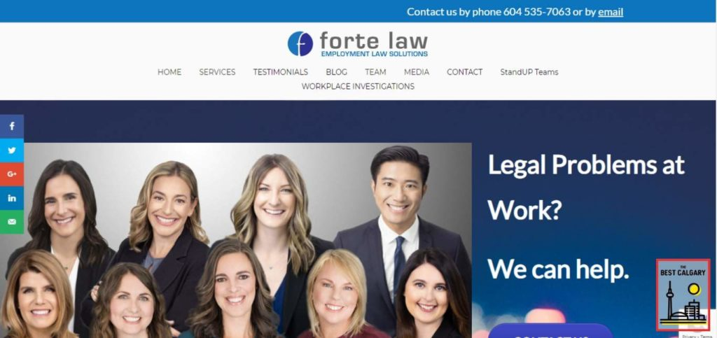 Forte Law's Homepage