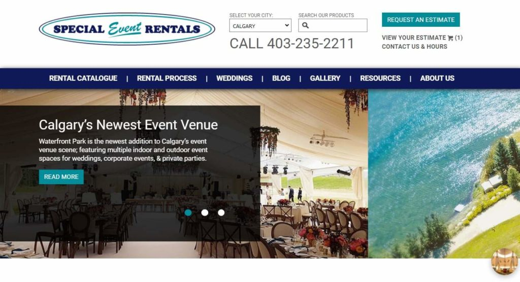 Special Events Rentals - Calgary's Homepage